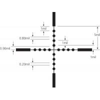 Оптичний приціл Kandar 3-9x40 хрест